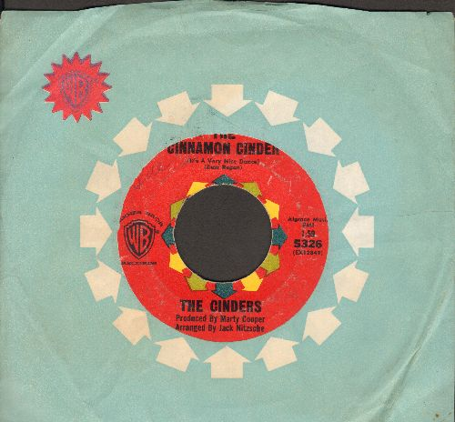 Cinders - The Cinnamon Cinder (It's A Very Nice Dance)/C'Mon Wobble (with vintage Warner Brothers company sleeve) - VG6/ - 45 rpm Records
