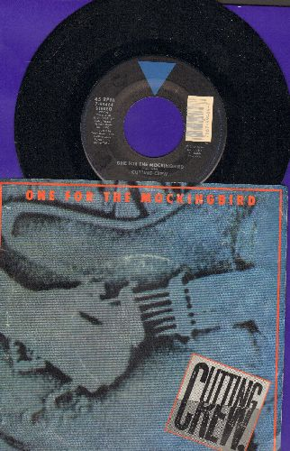 Cutting Crew - One For The Mockingbird/Mirror And A Blade (live) (with picture sleeve) - NM9/VG7 - 45 rpm Records
