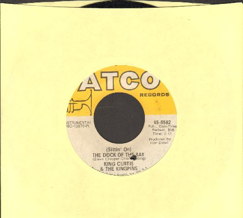 Curtis, King & The Kingpins - (Sittin' On) The Dock Of The Bay/This Is Soul (bb) - EX8/ - 45 rpm Records