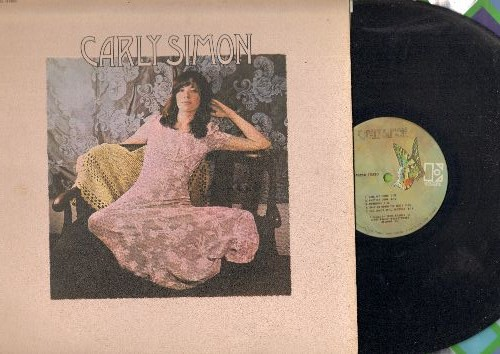 Simon, Carly - Carly Simon: That's The Way I've Always Heard It Should Be, Dan My Fling, One More Time (vinyl STEREO LP record, 1971 first pressing) - EX8/EX8 - LP Records