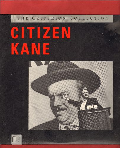 Citizen Kane - Citizen Kane - The Criterion Collection LASER DISC version of the Orson Welles Classic (This is a LASER DISC, not any other kind of media!) - NM9/NM9 - Laser Discs
