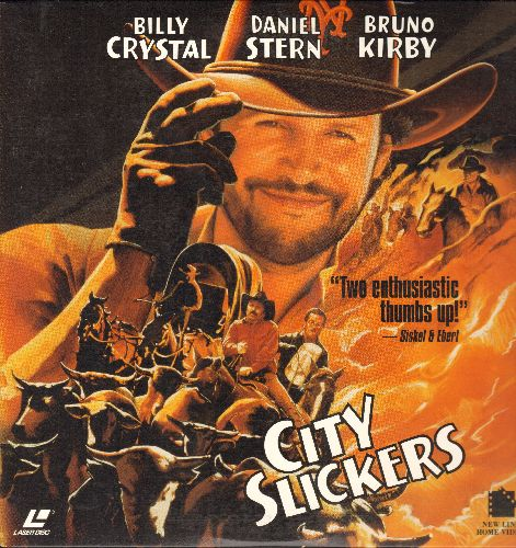 City Slickers - City Slickers - LASER DICS version of the Classic Comedy starring Billy Crystal and Oscar-Winner Jack Palance. - NM9/NM9 - LaserDiscs