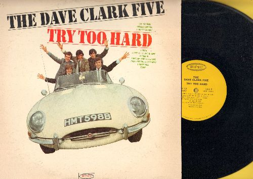 Clark, Dave Five - Try Too Hard: I really Love You, I Know, Ever Since You've Been Away, Today, Looking In (vinyl MONO LP record) - NM9/VG7 - LP Records