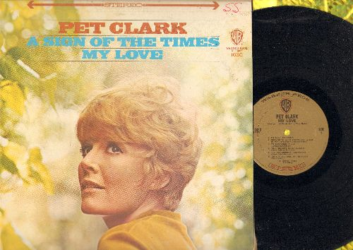 Clark, Petula - Pet Clark/My Love: Time For Love, A Sign Of The Times, We Can Work It Out, Hold On To What You've Got (Vinyl LP record) - EX8/EX8 - LP Records