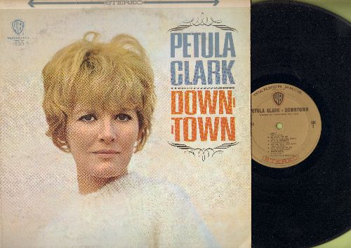 Clark, Petula - Downtown: Baby It's Me, Be Good To Me, This Is Goodbye, You Belong To Me (Petula Clark's US break-through LP, STEREO) - EX8/VG7 - LP Records