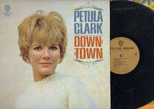 Clark, Petula - Downtown: Baby It's Me, Be Good To Me, This Is Goodbye, You Belong To Me (Petula Clark's US break-through LP, MONO in NICE condition!) - NM9/NM9 - LP Records