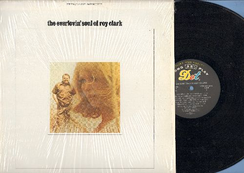 Clark, Roy - The Everlovin' Soul Of Roy Clark: Unchained Melody, Morningside Of The Mountain, All The Way, Me And Bobby McGee (Vinyl STEREO LP record) - EX8/NM9 - LP Records