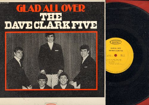 Clark, Dave Five - Glad All Over: Bits And Pieces, Chaquita, Do You Love Me?, Stay (Vinyl MONO LP record, the RARE issue with NO musical instruments on cover!) - EX8/EX8 - LP Records