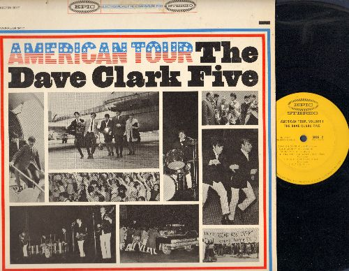 Clark, Dave Five - American Tour: Because, Blue Monday, Sometimes, I Cried Over You (Vinyl STEREO LP record) - EX8/EX8 - LP Records