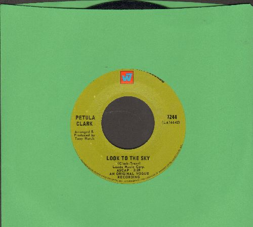 Clark, Petula - Look To The Sky/American Boy - EX8/ - 45 rpm Records