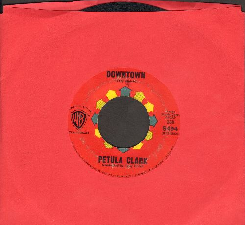 Clark, Petula - Downtown/You'd Better Love Me (RARE red label early pressing) - VG7/ - 45 rpm Records