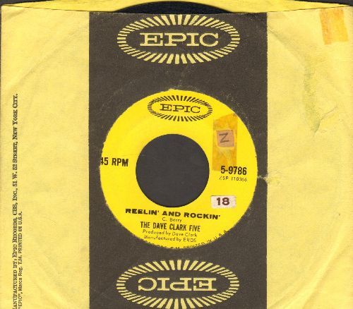 Clark, Dave Five - I'm Thinking/Reelin' And Rockin' (with Epic company sleeve) (sol) - EX8/ - 45 rpm Records