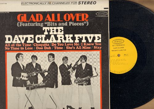 Clark, Dave Five - Glad All Over: Bits And Pieces, Chaquita, Do You Love Me?, Stay, No Time To Lose (Vinyl STEREO LP record, NICE condition!) - NM9/NM9 - LP Records