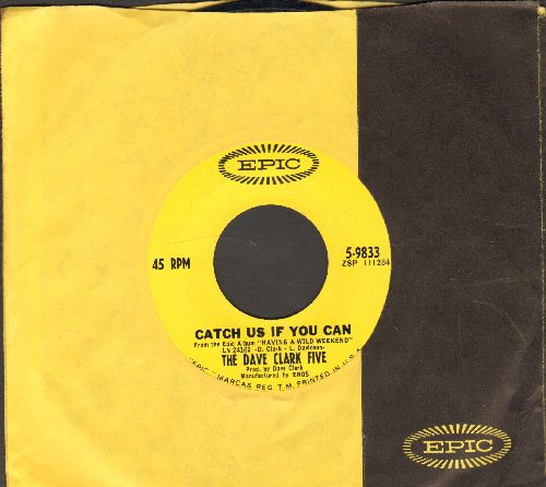 Clark, Dave Five - Catch Us If You Can/On The Move (with vintage Epic company sleeve) - NM9/ - 45 rpm Records