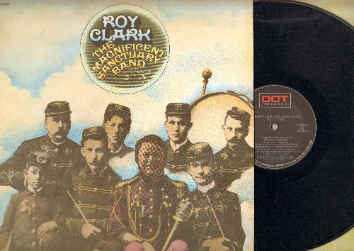 Clark, Roy - Magnificent Sanctuary Band: Just A Closer Walk With Thee, Put Your Hand In The Hand, Jesus Is A Soul Man (vinyl STEREO LP record) - EX8/EX8 - LP Records
