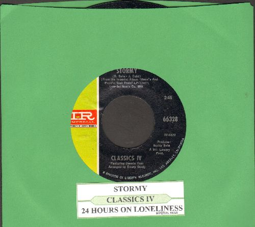 Classics IV - Stormy/24 Hours Of Loneliness (with juke box label) - NM9/ - 45 rpm Records