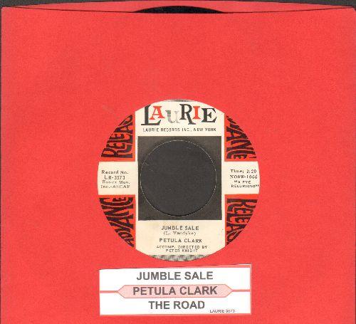 Clark, Petula - Jumble Sale/The Road (DJ advance pressing with juke box label) - NM9/ - 45 rpm Records