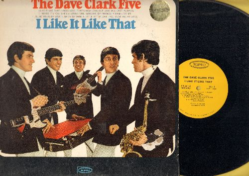 Clark, Dave Five - I Like It Like That: A Little Bit Of Love, I'll Be Yours My Love, You Know You're Lying, Please Love You (vinyl MONO LP record) - NM9/VG7 - LP Records