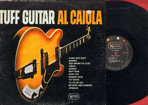 Caiola, Al - Tuff Guitar English Style: Help!, Yetserday, (I Can't Get No) Satisfaction, You Really Got Me, Catch Us If You Can, I'm Telling You Now (Vinyl STEREO LP record) - NM9/VG7 - LP Records