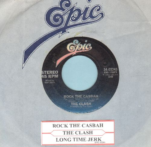 Clash - Rock The casbah/Long Time Jerk (with juke box label and Epic company sleeve) - NM9/ - 45 rpm Records