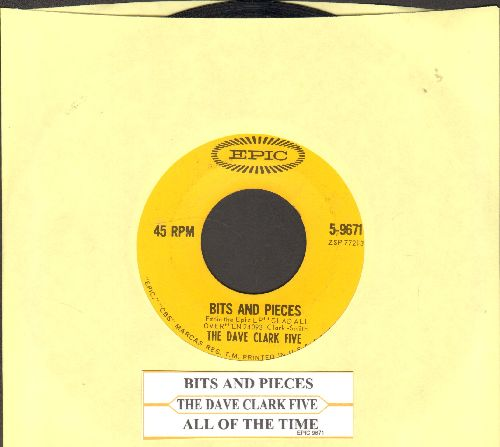 Clark, Dave Five - Bits And Pieces/All Of The Time (with juke box label) - VG7/ - 45 rpm Records