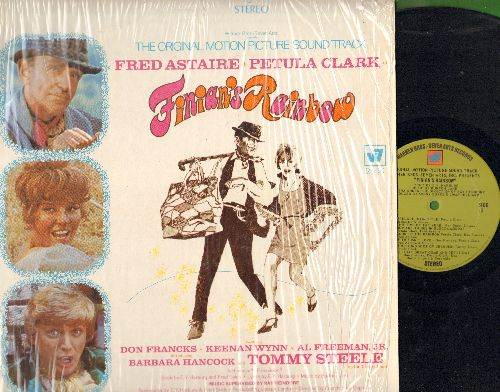 Clark, Petula, Fred Astaire, Tommy Steele - Finian's Rainbow - Original Motion Picture Sound Track, includes songs Look To The Rainbow, Old Devil Moon and How Are Things In Glocca Morra? (Vinyl STEREO LP record, shrink wrap) - NM9/NM9 - LP Records