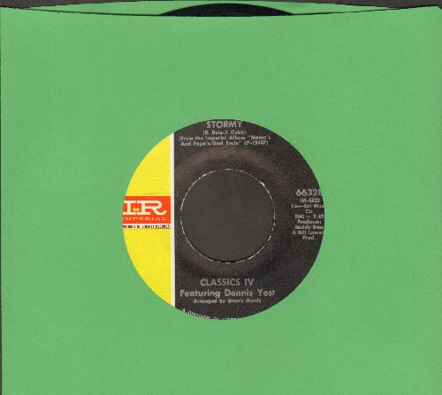 Classics IV - Stormy/24 Hours Of Loneliness  - EX8/ - 45 rpm Records