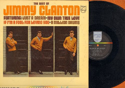 Clanton, Jimmy - Best Of: Just A Dream, Mathilda, My Own True Love, A Million To One, Follow The Sun (vinyl MONO LP record) - EX8/EX8 - LP Records