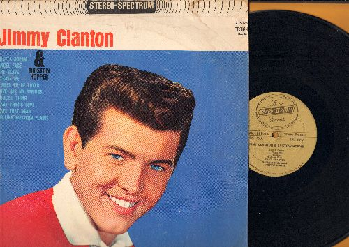 Clanton, Jimmy - Jimmy Clanton: Just A Dream, Angel Face, Baby That's Love, Love Has No Strings (1960s gold label pressing, STEREO) - EX8/VG7 - LP Records