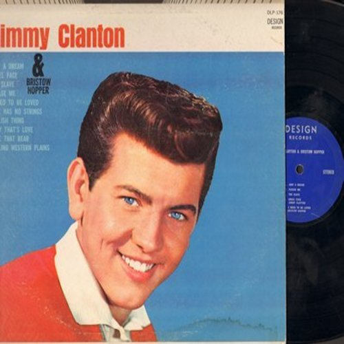 Clanton, Jimmy - Jimmy Clanton: Just A Dream, Angel face, Baby That's Love, Love Has No Strings (1960s second pressing, STEREO) - EX8/VG7 - LP Records