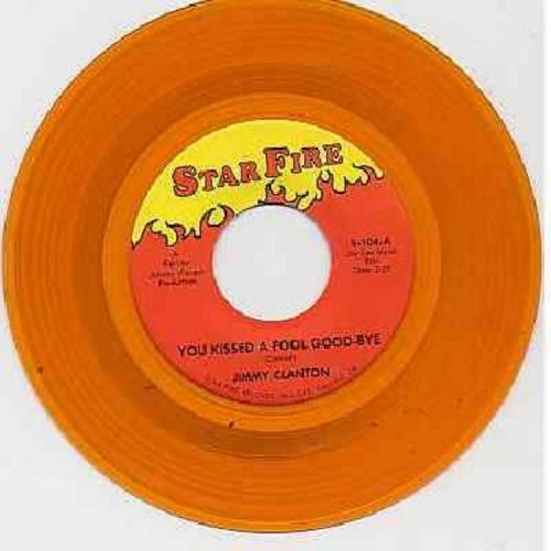 Clanton, Jimmy - You Kissed A Fool Good-Bye/I Wanna Go Home (orange vinyl re-issue) - NM9/ - 45 rpm Records