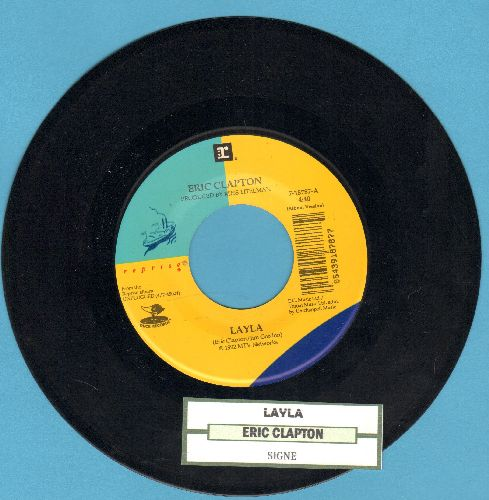 Clapton, Eric - Layla/Signe (with juke box label) - NM9/ - 45 rpm Records