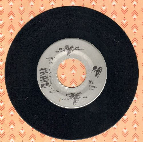 Clapton, Eric - Pretending/Before You Accuse Me - VG7/ - 45 rpm Records