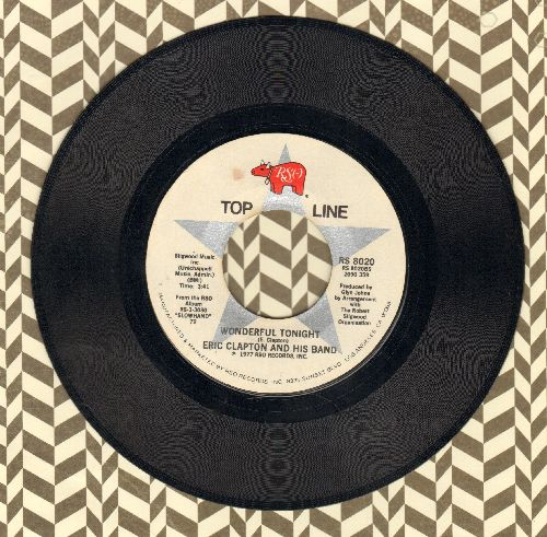 Clapton, Eric - Wonderful Tonight/Lay Down Sally (double-hit re-issue) - NM9/ - 45 rpm Records