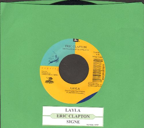 Clapton, Eric - Layla/Signe (with juke box label) - EX8/ - 45 rpm Records