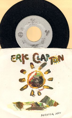Clapton, Eric - Forever Man/Too Bad (with picture sleeve) - NM9/VG7 - 45 rpm Records