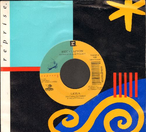 Clapton, Eric - Layla/Signe (with Reprise company sleeve) - EX8/ - 45 rpm Records