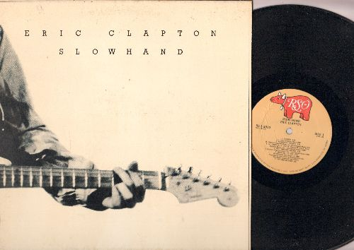 Clapton, Eric - Slow Hand: Cocaine, Wonderful Tonight, Lay Down Sally, Peaches And Diesel (Vinyl STEREO LP record, gate-fold cover) - NM9/EX8 - LP Records