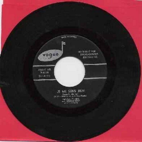 Clark, Petula - Je Me Sens Bien (Dance On)/Elle Est Finie (This Is Goodbye) (Canadian Pressing, sung in French) - EX8/ - 45 rpm Records