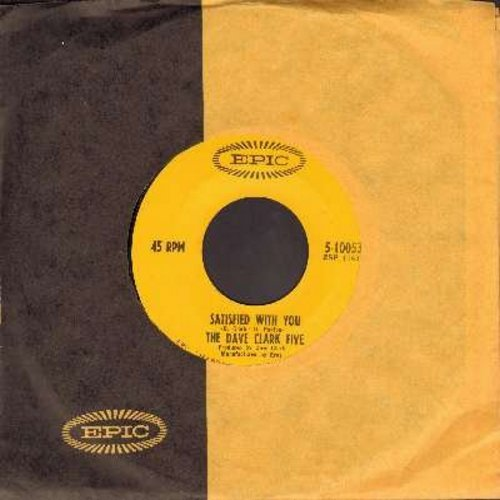 Clark, Dave Five - Satisfied With You/Don't Let Me Down (with Epic company sleeve) - EX8/ - 45 rpm Records