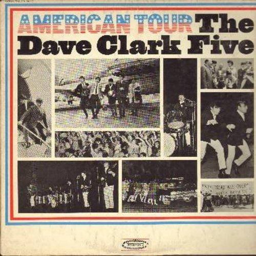 Clark, Dave Five - American Tour: Because, Blue Monday, Sometimes, I Cried Over You (Vinyl MONO LP record) - NM9/VG7 - LP Records