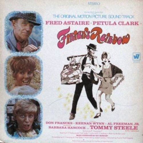 Clark, Petula, Fred Astaire, Tommy Steele - Finian's Rainbow - Original Motion Picture Sound Track, includes songs Look To The Rainbow, Old Devil Moon and How Are Things In Glocca Morra? (Vinyl STEREO LP record with BONUS Play Bill!) - NM9/EX8 - LP Record