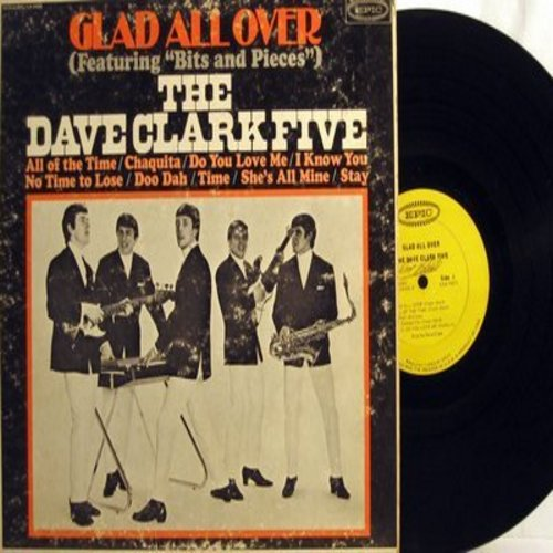 Clark, Dave Five - Glad All Over: Bits And Pieces, Chaquita, Do You Love Me?, Stay (Vinyl MONO LP record) - VG7/VG7 - LP Records