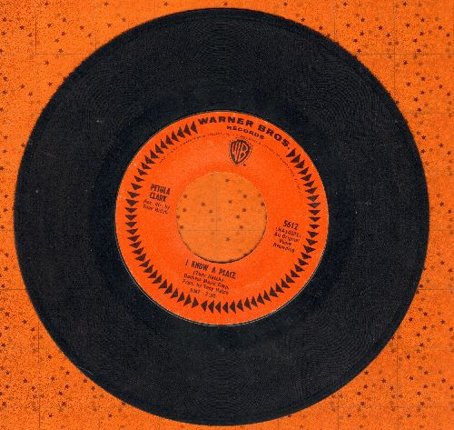 Clark, Petula - I Know A Place/Jack & John  - EX8/ - 45 rpm Records