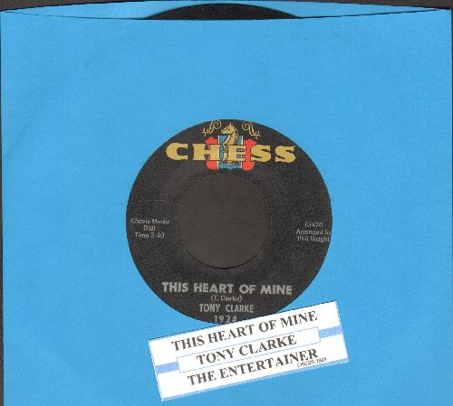 Clarke, Tony - The Entertainer/This Heart Of Mine (with juke box label) - EX8/ - 45 rpm Records