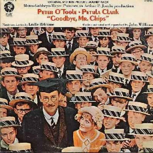 Clark, Petula - Goodbye, Mr. Chips - Original Motion Picture Sound Track. Musical Remake of the 1939 Classic, includes many songs by Petula Clark (Vinyl STEREO LP record) - NM9/EX8 - LP Records