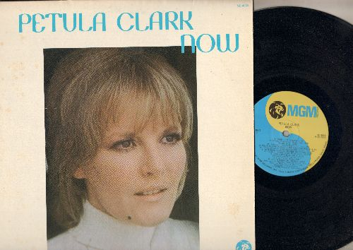 Clark, Petula - Now: Wedding Song (There Is Love), Baby I'm Yours, My Guy, Song Without End (Vinyl STEREO LP record) - NM9/EX8 - LP Records