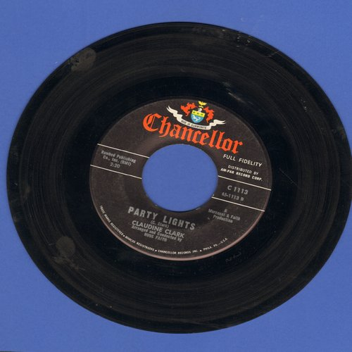 Clark, Claudine - Party Lights/Disappointed  - VG6/ - 45 rpm Records