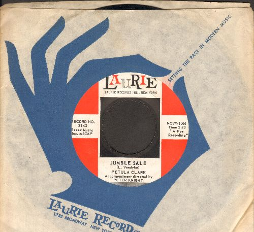 Clark, Petula - Jumble Sale/The Road (with RARE vintage Laurie company sleeve) - EX8/ - 45 rpm Records