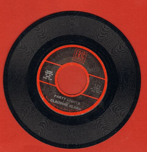 Clark, Claudine - Party Lights/Tiger (by Fabian on flip-side) (re-issue) - NM9/ - 45 rpm Records
